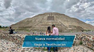 La zona arqueológica reabrió este 10 de septiembre tras casi seis meses cerrada por la pandemia; apenas hubo 600 visitantes, pero se espera que la afluencia aumente estos días