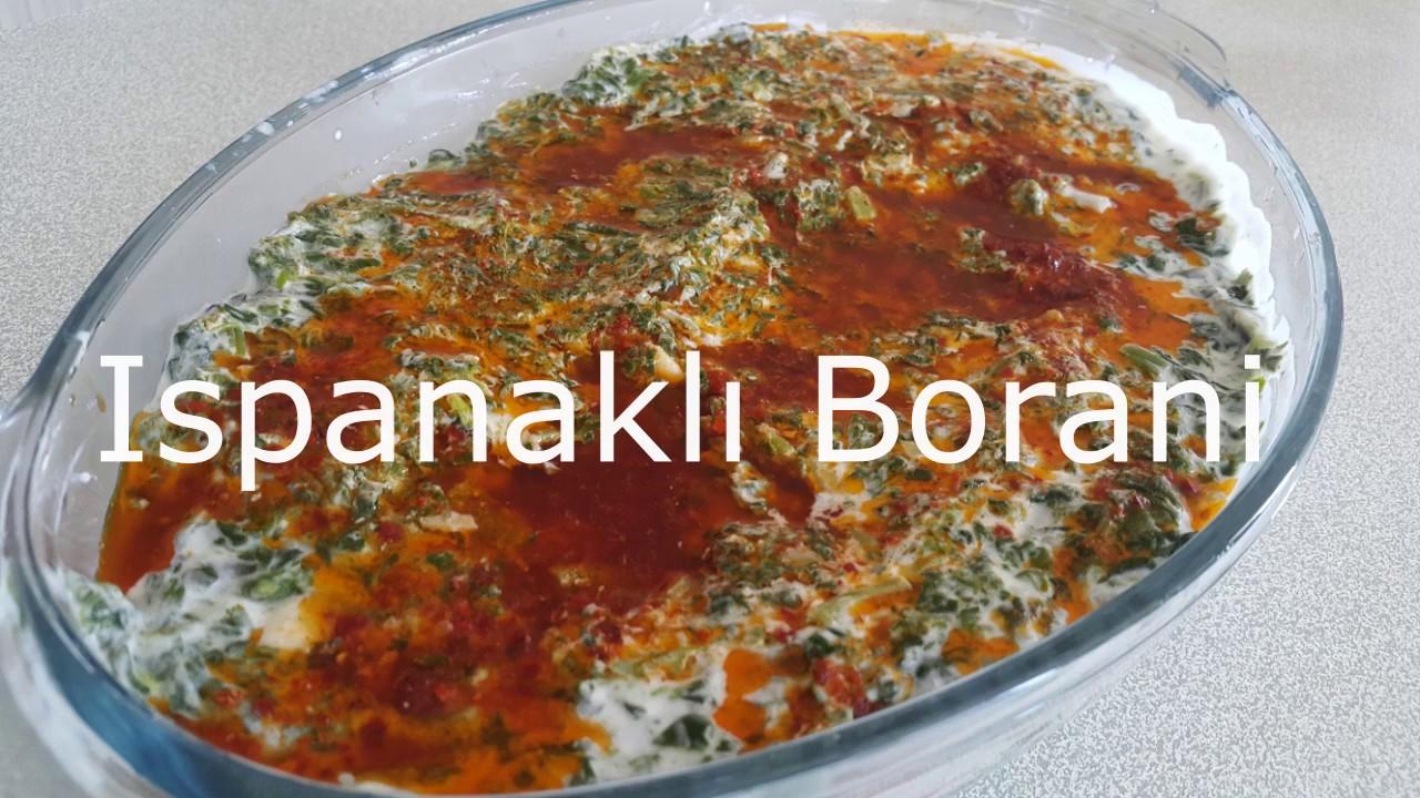 Bal Kabaklı Borani Tarifi