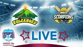 LIVE Windwards vs Jamaica | West Indies Under 19 Championship 2019