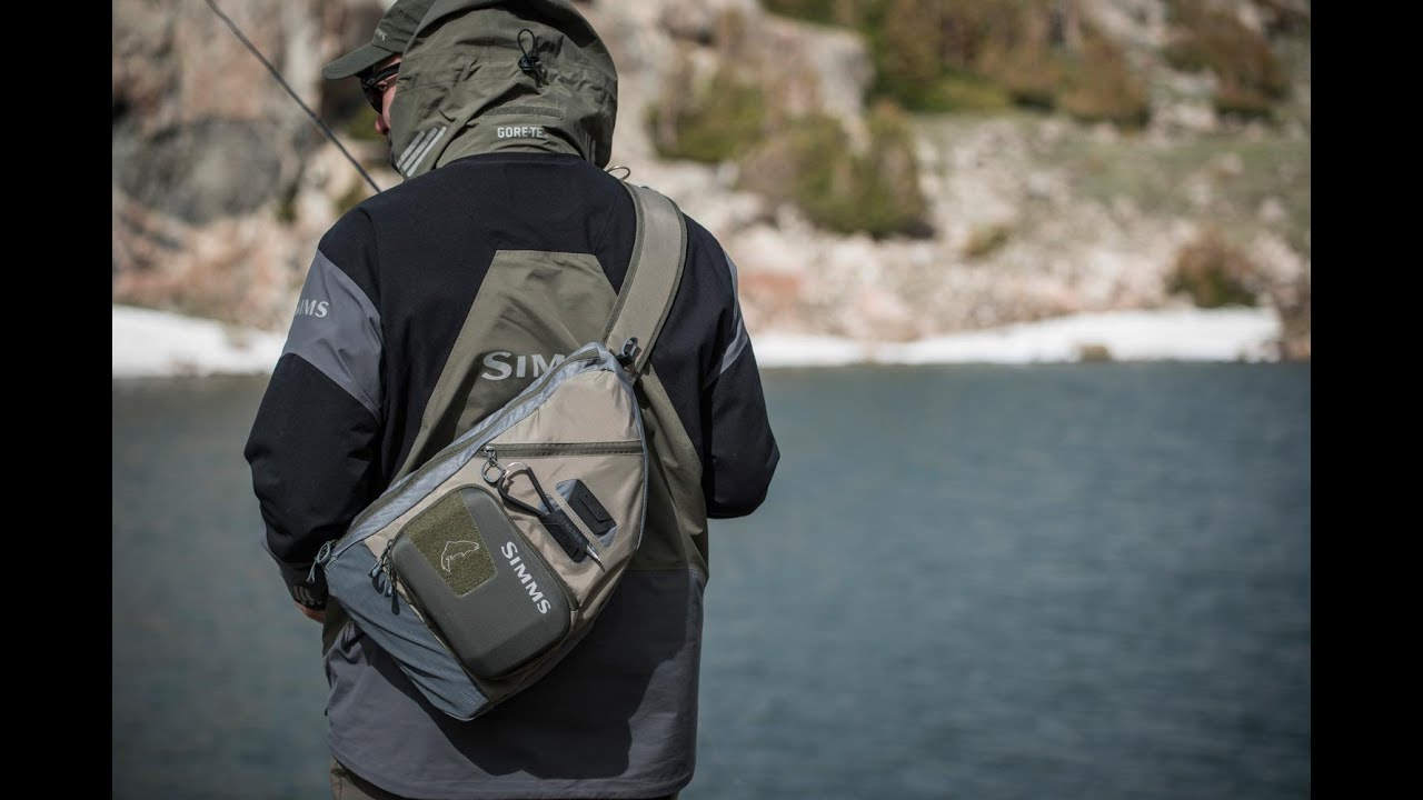 Simms headwater sling pack review and hands on youtube for Fly fishing sling pack