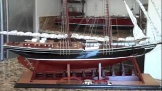 Bluenose model ship