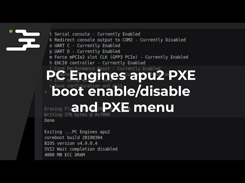 how to pxe boot