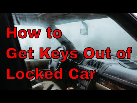 KEYS LOCKED IN CAR - How To GET IN