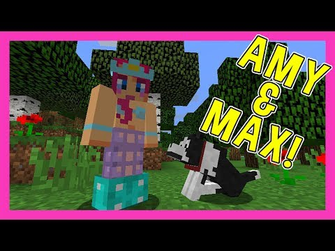 Amy & Max! Ep. 1 Silly Gooseberry! | Minecraft | Amy Lee33