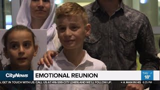 Emotional Mother-and-child Reunion As Young Former Captive Arrives In Winnipeg