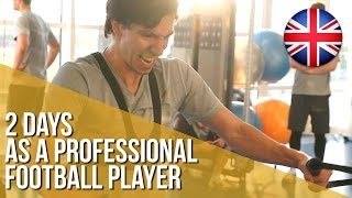 2 days as a professional football player (English version)