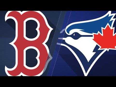 Benintendi's 3-hit night lifts the Red Sox: 5/12/18