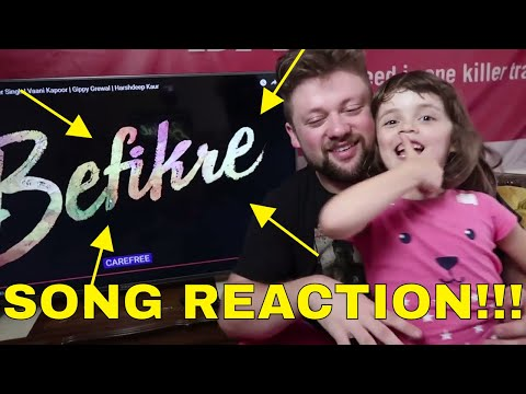 KHULKE DULKE - BEFIKRE - Song Reaction!!!