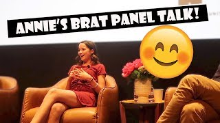 Annie's Brat Panel Talk 😊 (WK 385.2) | Bratayley