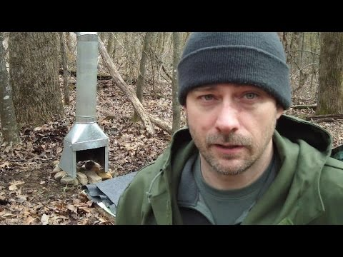 EL Cheapo Bushcrafter Backpacker Fireplace