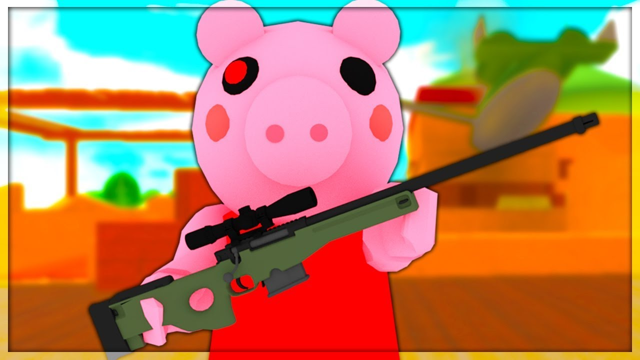 Level 0 To 100 In Arsenal Piggy In Arsenal Ep 20 Roblox Youtube