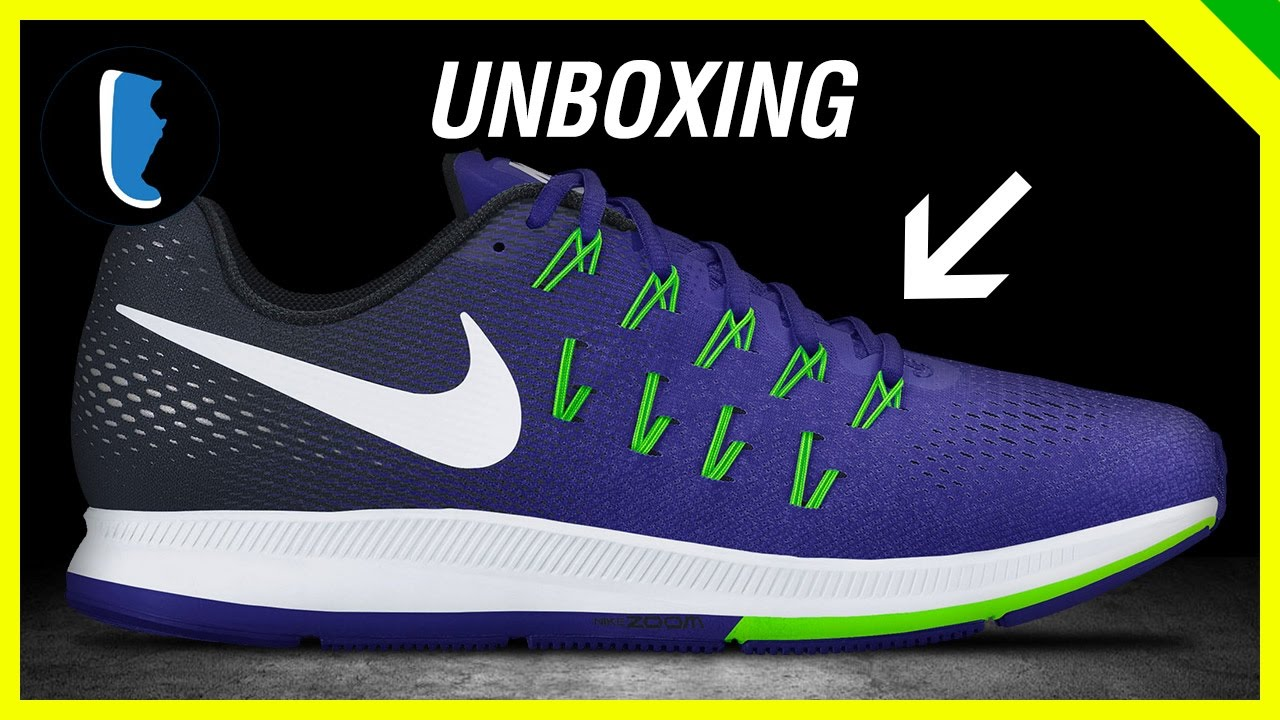 eaeb0fb4227 Nike Air Zoom Pegasus 33 (Unboxing) - YouTube