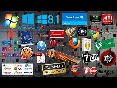 Descarga 17 Programas Básicos Para Tu PC Gratis Aqui 100% Full 2017.