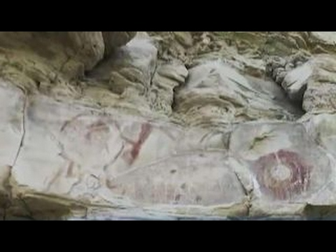 Native American drawings discovered on Montana ranch