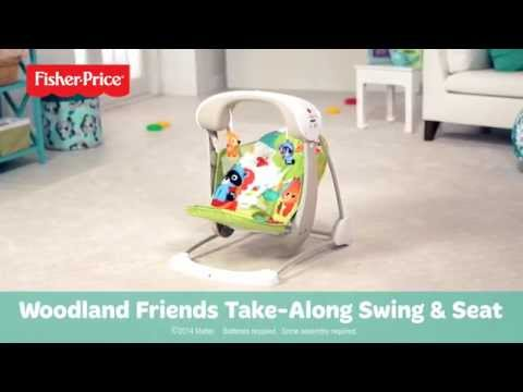 Woodland Friends Take-Along Swing & Seat