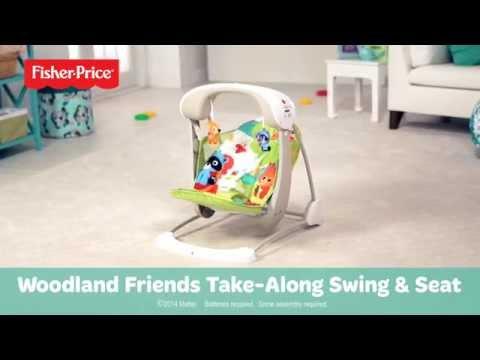 Woodland Friends Take-Along Swing & Seat