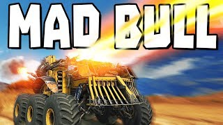 Crossout - THE MAD BULL!  (Crossout Gameplay)