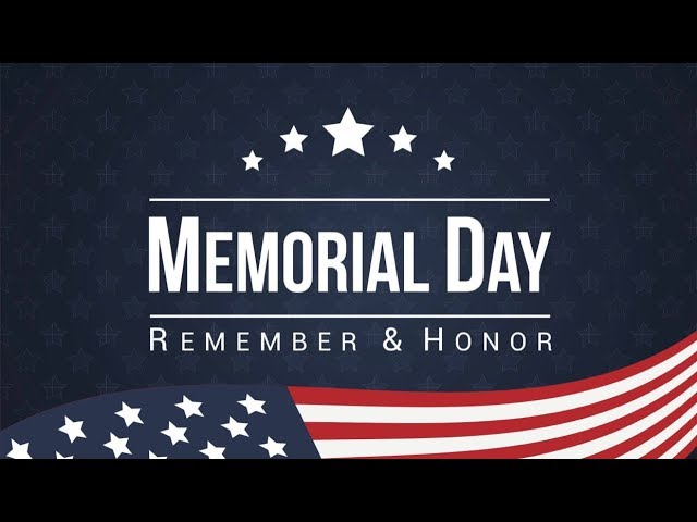 Memorial Day Service | May 26, 2019