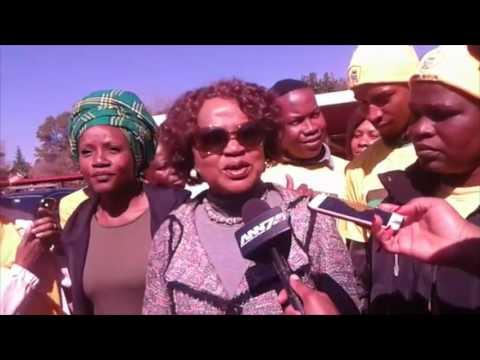Baleka Mbete casts special vote