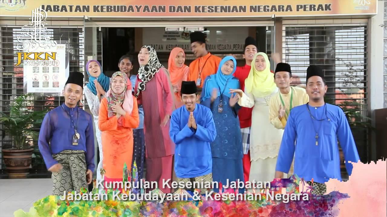 Ucapan Raya 2015 Kumpulan Kesenian Jabatan Kebudayaan Dan Kesenian Negara Perak Youtube