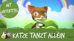 Die Katze tanzt allein - HipPo-Pop feat. Nilpferd | Kinderlieder