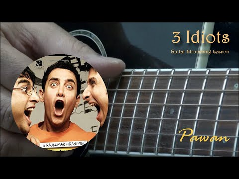 3 Idiots - Give Me Some Sunshine, All Izz Well, Zoobi Doobi - Guitar Chords Lesson