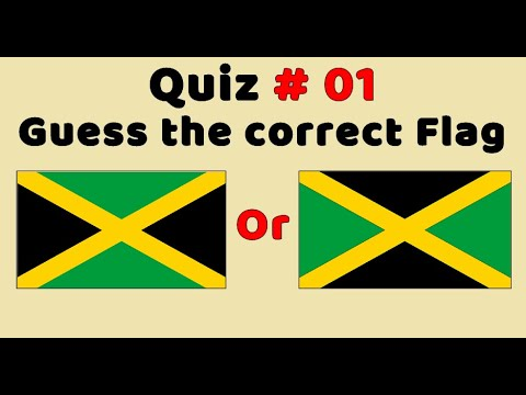 Quiz : Which Flag Is Correct? (Part 1)