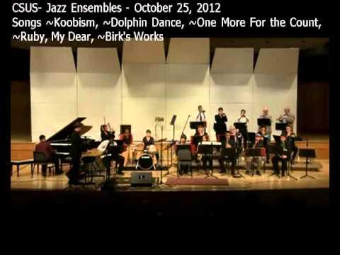 CSUS 4:00 p.m.  Jazz Ensemble Concert  October 25, 2012