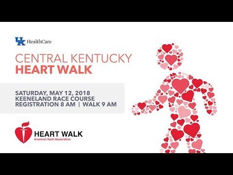 2018 Central Kentucky Heart Walk May 12, 2018, Keeneland