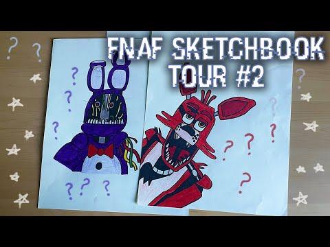 All my FNAF Drawings part 2