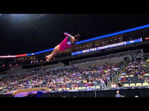 2014 P&G Gymnastics Championships - Sr. Women - Day 1 (NBCSN)