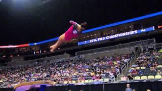 2014 P&G Gymnastics Championships - Sr. Women - Day 1 (NBCSN Broadcast) thumbnail