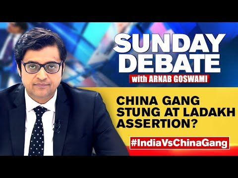 Is Lobby Deliberately Aiding Chinese Narrative? | Exclusive Sunday Debate With Arnab Goswami