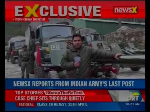 NewsX exclusive: Ground report from Sino-India border