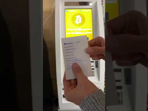 How To Cash Out Bitcoin With An ATM | Crypto To Cash Canada