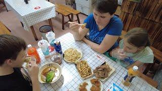 Северо-восточная китайская кухня нашего района - Жизнь в Китае #261