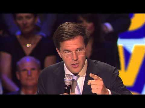 Speech Rutte op Verkiezingscongres