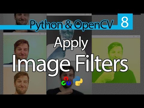 How to Apply Image Filters in OpenCV with Python // OpenCV