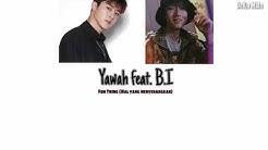 ENG/INDO Yawah feat B.I iKON - Fun Thing (Only Hanbin Part)