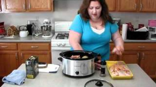NerdFamily Food Crockpot Chicken Thighs and Potatoes