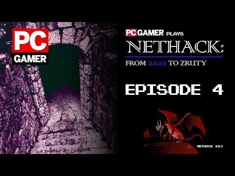 NetHack from aaaa to Zruty: Ep. 4 —A new run with a custom Options file