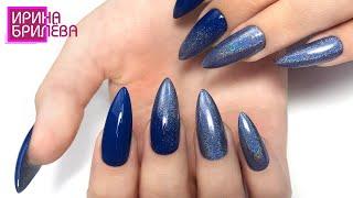 УКРЕПЛЕНИЕ ногтеи акриловои пудрои НАТУРАЛЬНЫЕ длинные ногти