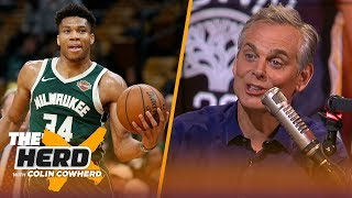 Download Who will replace Warriors as NBA's next dynasty? Colin Cowherd gives his take | NBA | THE HERD Mp3 and Videos