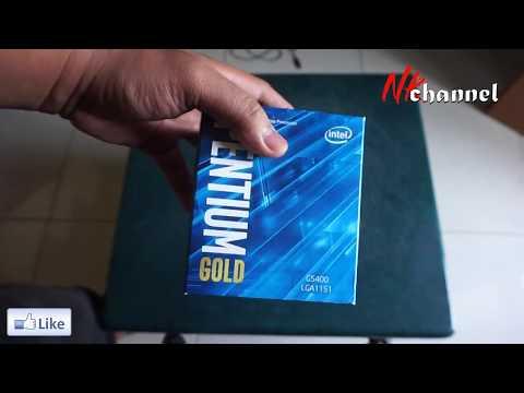 Unboxing Intel Pentium Gold G5400 3.7Ghz - Cache 4MB Socket LGA 1151 - Coffeelake Series | Foci