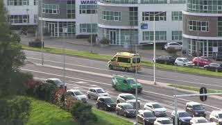 #Ambulance 16-157 onderweg naar het ziekenhuis
