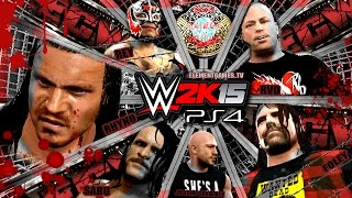 WWE 2K15 PS4 / XB1 : ECW Extreme Elimination Chamber - ECW Title - Universe Mode