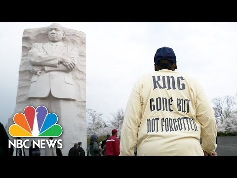Watch Live: Memorials from around the U.S. honor MLK 50 years after assassination