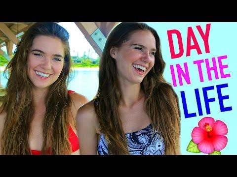 A Day In My Life In Hawaii + Epic Drone Shots | NinaAndRanda