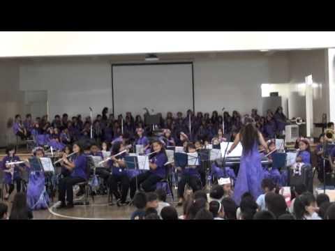 Kapalama Elementary School Band LetsGoBandArmedForces052611