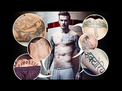 David Beckham Tattoos And Its Meanings